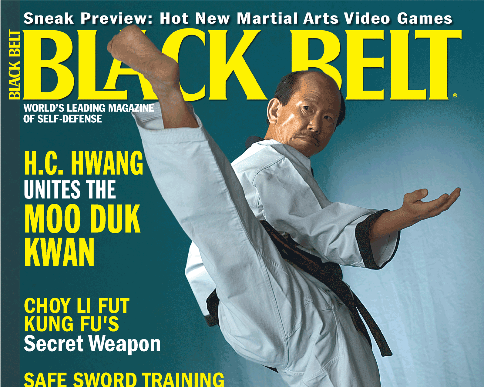 Black Belt Magazine Hall of Fame Man Of The Year